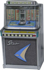 RARE JUKEBOX MINIATURE REPLICA ROCKOLA 1485 TEMPO II 1960 LIGHTS & PLAYS FIDENCO