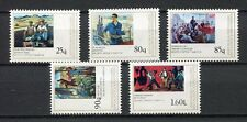 27130) ALBANIA 1978 MNH** Nuovi** Working class Paintings 5v