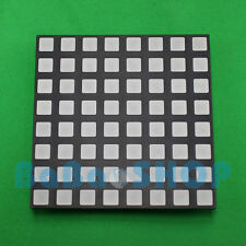 RGB 8x8 Full Color Dot Matrix LED 60x60mm Colorful Square Display Common Anode B