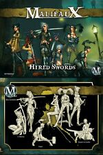 Malifaux Outcast Hired Swords Viktoria box set plastic Wyrd miniatures 32mm