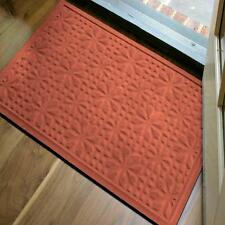 NEW Microfibre® Low Profile 2x3 Foot Door Mat In Persimmon Color Made in USA!