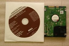 NEW Dell Windows 7 Professional  32 bit Reinstall Disc With w/ opt. Hard Drive