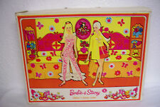 antique Mattel 1968 Barbie & Stacy Sleep 'n Keep Carry doll Case trunk travel