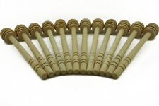 20PCS Wooden Honey Dipper Stick Drizzle Server Muddles Scoop For Cooking Kitchen