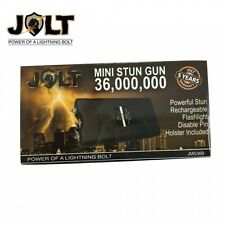 Jolt #1 Rated Quality BLACK Stun Gun In USA!  Self Defense + Charger/Case Combo
