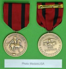Army Indian Wars Campaign Medal ring top USM308