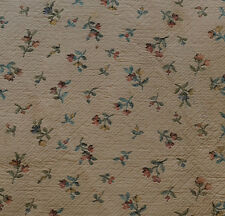 LOVELY ANTIQUE TAPESTRY FABRIC FRAGMENT- DOLLSCALE X24