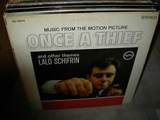 LALO SCHIFRIN once a thief ( jazz ) - RVG -