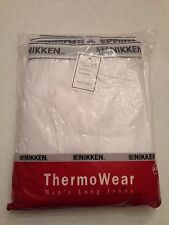 NEW Nikken ThermoWear Long Johns Pants/Thermal Underwear XXL #1794 Fee Shipping!