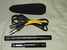 Sennheiser ME66 & K6 Supercardioid Short Shotgun Microphone & Foam Windscreen EX