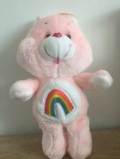 Vintage Cheer Bear 13 Plush Care Bear 1983 Kenner Carebears Rare Great Condition