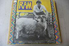 """PAUL McCARTNEY(BEATLES)""""RAM-disco 33 giri APPLE Italy 1971"""" GATEFOLD"""