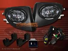 2002 03 04 05 Honda Civic Si EP3 JDM/OEM Clear Front FogLight Lamp&Wiring&Switch