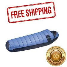 Winter -18C/0F Degree Cold Sleeping Bag Weather Camping Hiking Travel Light Blue
