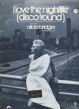 Alicia Bridges I Love The Nightlife (Disco 'Round)  US  Sheet Music