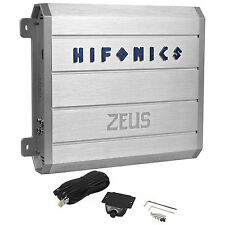 New Hifonics Zeus ZRX1216.1D 1200W Mono Block Class D Car Amplifier+Bass Remote