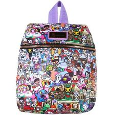 "NEW TOKIDOKI Purple/Multi ""ROMA"" Mini Backpack -SALE"