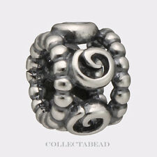 Authentic Pandora Sterling Silver Ring of Roses Bead 790456