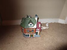 Lemax 1995 Christmas Village Lighted House Porcelain Hat Shop Collectibles