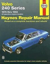 Volvo 240 Series  '76'93 (Haynes Manuals)