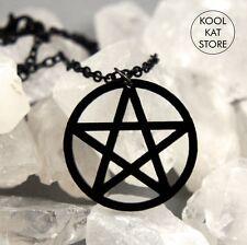Pentagramm Choker Halskette • Pentacle Necklace Schutz Drudenfuß Witch Wicca
