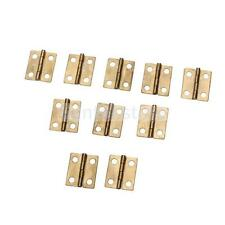 10 xMini jewelry Box Case Repairing/ Doll House/ Cabinet/ Drawer Butt Hinges