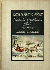 CURRIER & IVES (1942, Special Edition) w/ 192 Plates no writing/tears
