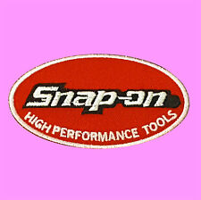 Snap On High Performance Tools Motor Racing  Badge Embroidered Iron On Patch