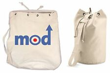 MOD LOGO DUFFLE BAG - College Rucksack Gym Target Paul Weller The Who Jam Sports
