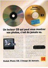 PUBLICITE  ADVERTISING  1994   KODAK   photo CD