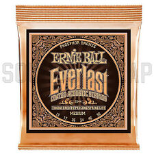 Ernie Ball 2544 Everlast Phosphor Medium Acoustic Guitar Strings ( 13-56 )