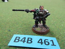 Warhammer 40K well painted oop metal Space Marine Scout Sergeant Naaman