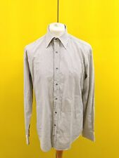 "Mens Gucci Formal Shirt - 16.5"" Collar - Made In Italy - Great Condition"