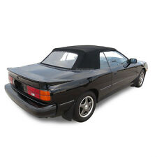 New Toyota Celica 1987-1989 Convertible Soft Top Replacement Black Pinpoint