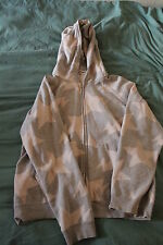 A Bathing Ape Classics [2008] Grey Star Zipper Hoodie [M] Sweater Authentic BAPE