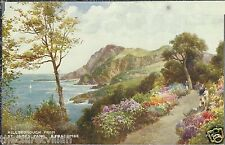 Hillsborough from St James Park Ilfracombe  Artist Brian Gerald c. 1934 Unposted