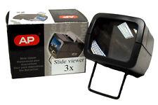 Ap 3x visionneuse pour diapositives montées 35 mm-illuminé