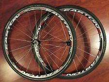 EASTON EA70 8-10 SPEED SHIMANO WHEEL SET MAXXIS LARSEN MIMO CX  700 x 35C TIRES