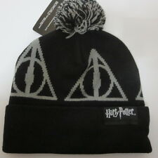 New Harry Potter Deathly Hallows HAT CAP Knit Winter HAT Beanie Skullcap Cosplay