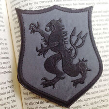 U.S. ARMY DEVGRU LION CRUSADER SHIELD USA NAVY SEAL TEAM 6 3D Hook PATCH
