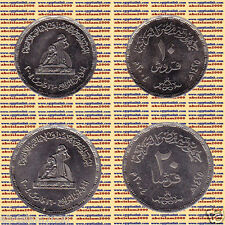 "2004 Egypt Egipto مصر Metal Coin"" National Women 's Council""Set of 20,10 Pt"