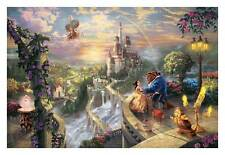 """Beauty and the Beast prints oil painting on canvas 24""""X36"""""""