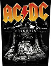 AC/DC Hells Bells giant sew-on backpatch  340mm x 290mm (ro)