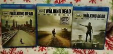 Walking Dead Seasons 1 2 & 3 Blu Ray sets