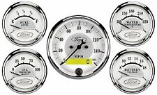 FORD RACING AUTOMETER MASTERPIECE GAUGE SET 880087 M-19017-B961