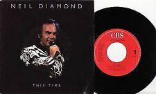 "NEIL DIAMOND - THIS TIME Very rare 1988 dutch 7"" P/S Single Release! EX-"