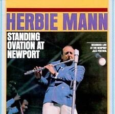 Standing Ovation at Newport by Herbie Mann (CD, Feb-2000, Wounded Bird)