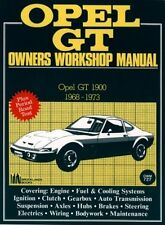 OPEL GT 1900 COUPE ( 1968 - 1973 ) OWNERS WORKSHOP MANUAL