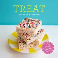 Treat: 50 Recipes for No-Bake Marshmallow Treats-ExLibrary