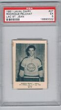 1951 Laval Dairy Lac St. Jean Hockey Card #27 R. Pelchat Graded PSA 5